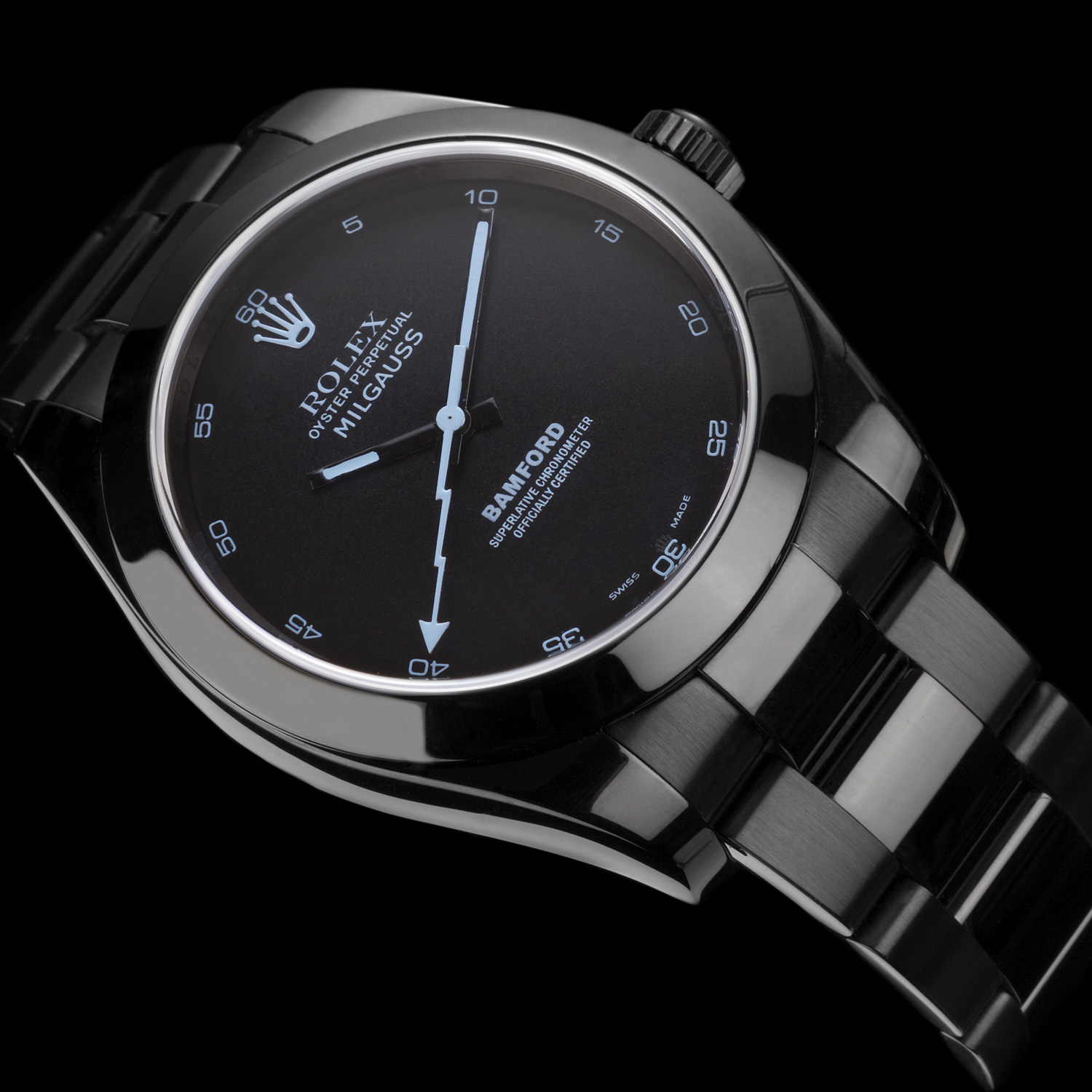 Rolex Milgauss Bamford Replica Watches