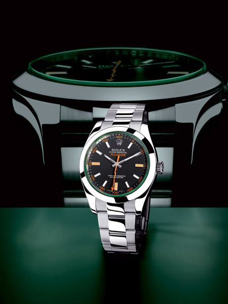Rolex Milgauss Green Replica Watches