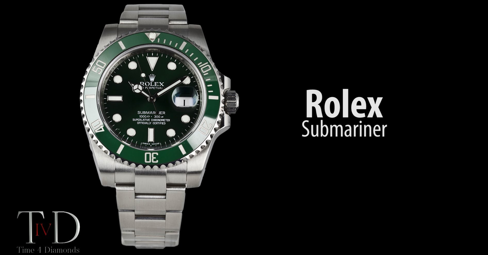 Rolex Submariner Green Replica Watches