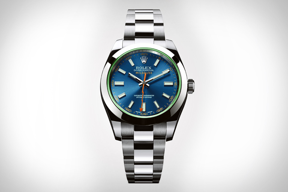 Rolex Milgauss Blue Replica Watches